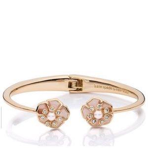 Kate Spade sunset blossoms cuff bracelet